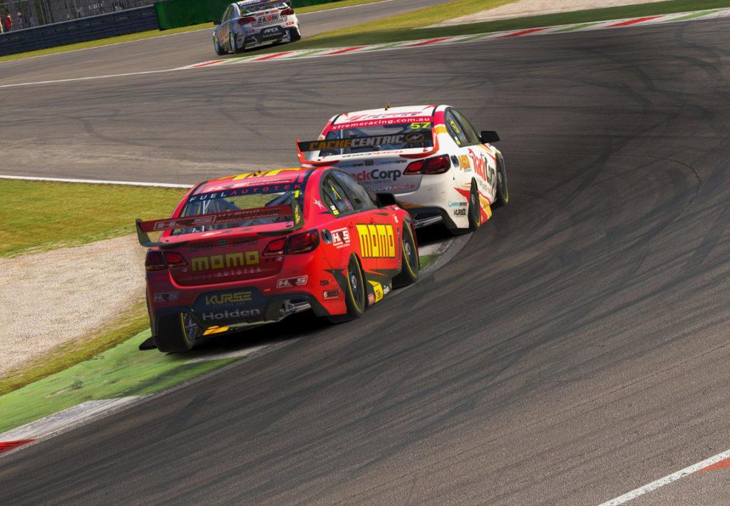 Madison Down on iRacing's V8 Supercars - Virtual Racing