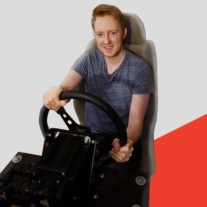 Keegan on VRS DirectDrive Pro