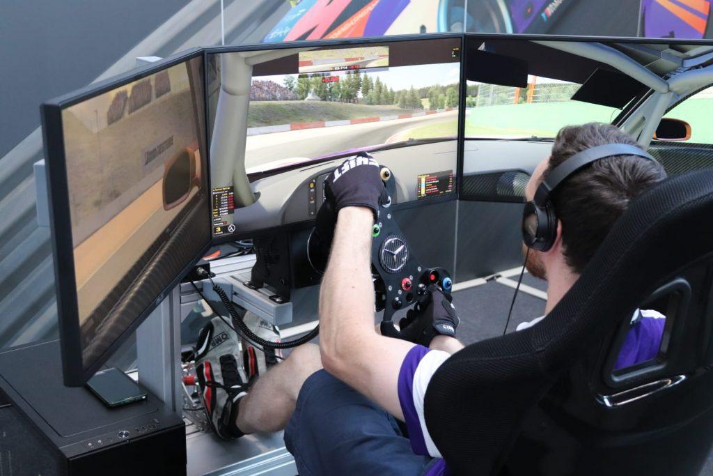 VRS DirectForce Pro rig at SimRacing Expo 2019